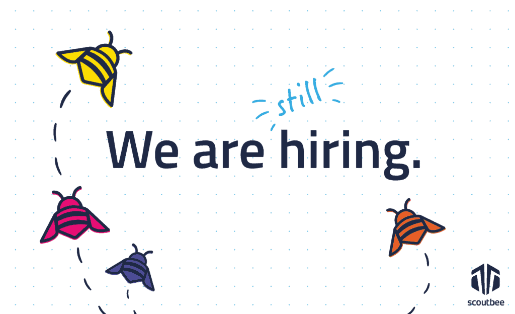 Adapting, growing and continuing to hire - Join our beehive and be part of our success story!