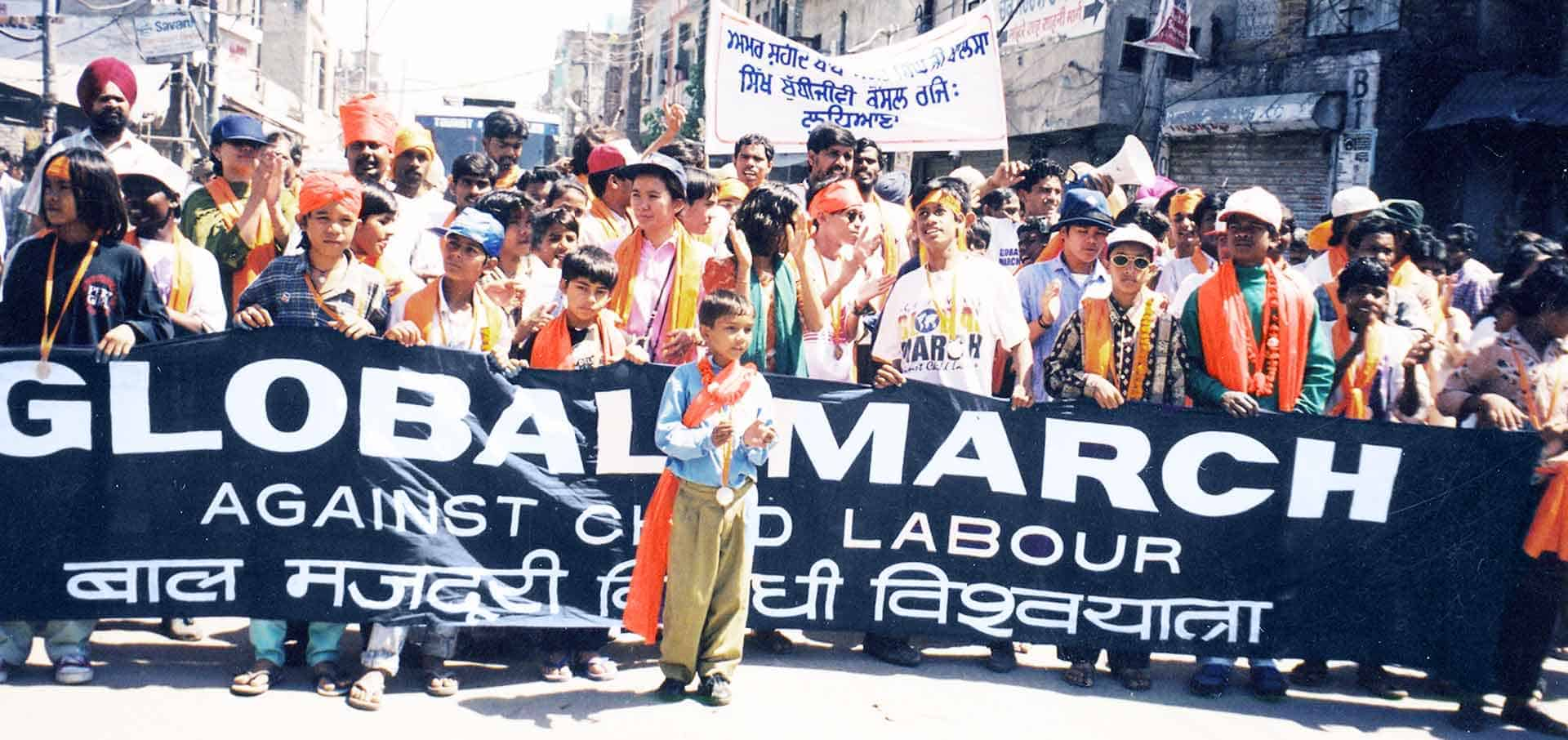 Introducing our Holiday Season charity - Global March Against Child Labour