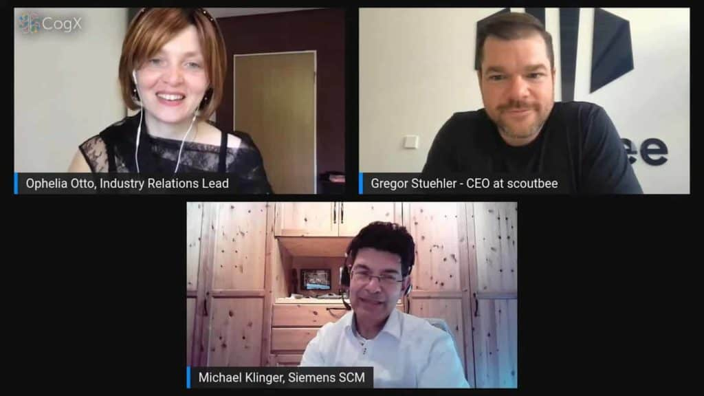 """scoutbee at CogX 2021: """"Digital scouting delivers enhanced efficiency in searches, better visibility and insights"""""""